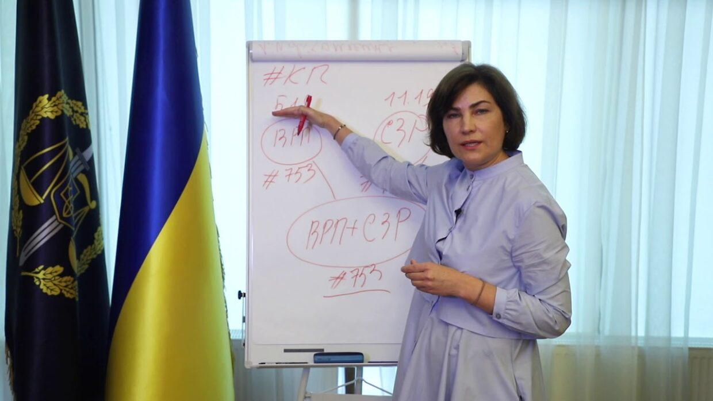Роз'яснення щодо процедури повідомлення про підозру народному депутатові (відео)