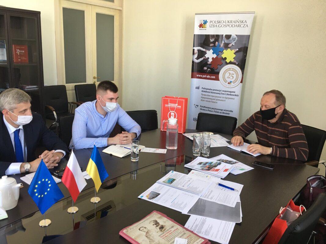 Крюковський вагонобудівний завод розвиває співпрацю з польськими партнерами.