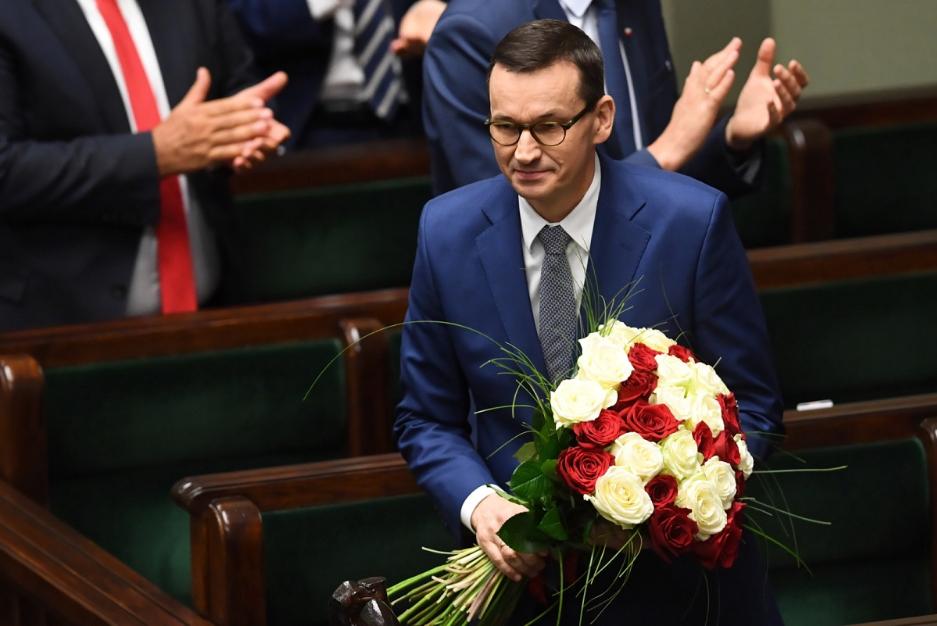 Сейм Польської Республіки проголосував за вотум довіри для уряду Матеуша Моравєцького