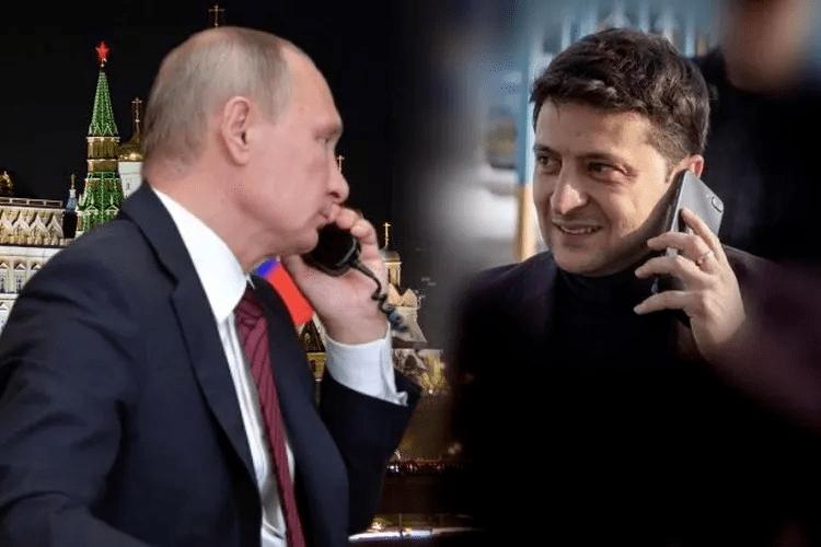 Президент України Володимир Зеленський провів телефонну розмову з Президентом РФ Володимиром Путіним