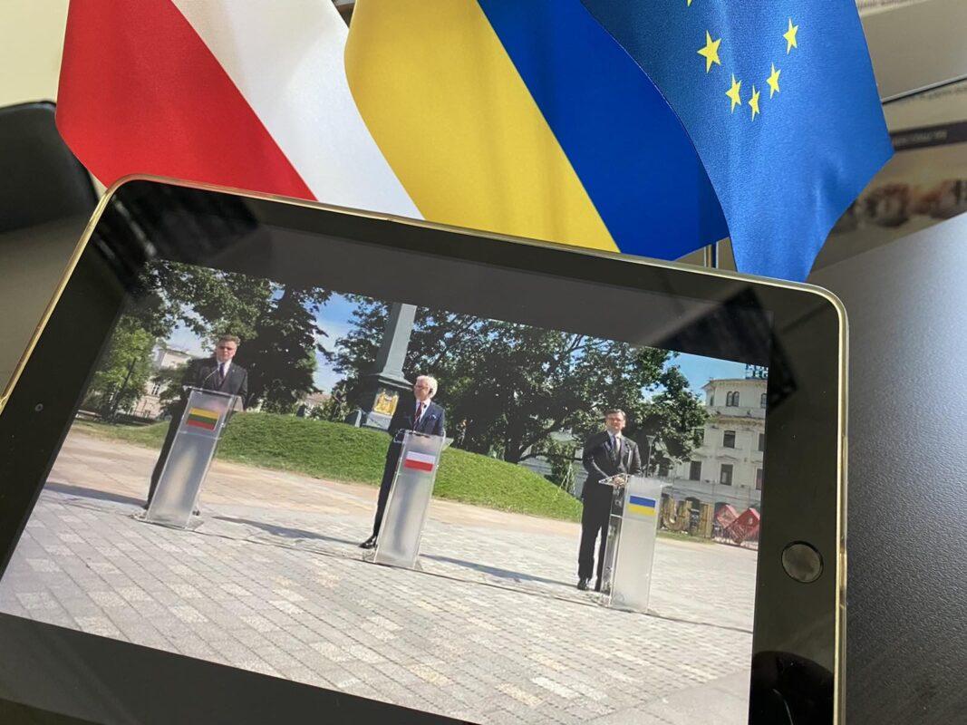 Міністри закордонних справ трьох країн оголосили про запуск нового формату міжнародної співпраці