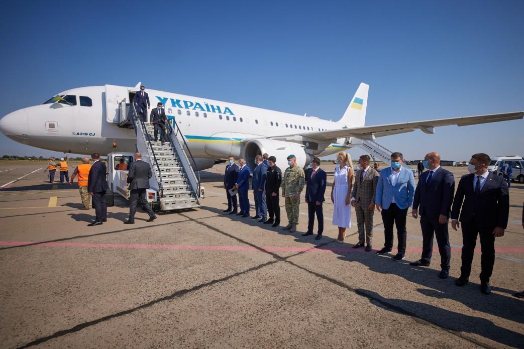 Президент прибув з робочою поїздкою на Миколаївщину