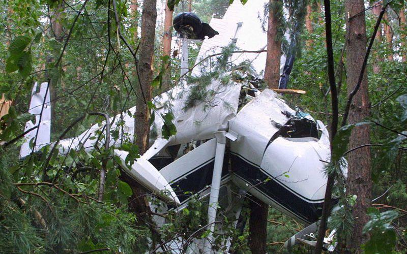 У Польщі розбився легкий літак