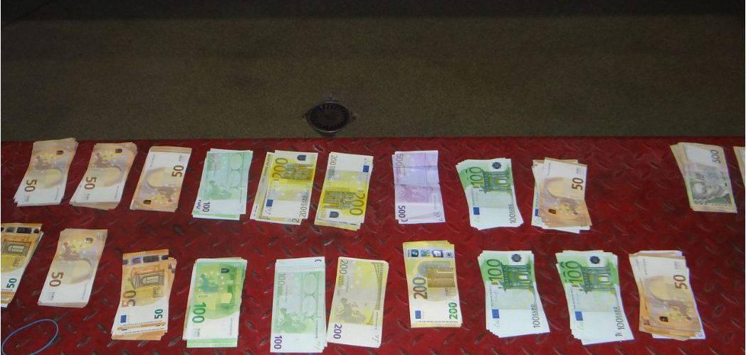 Українці перевозили до Польщі незадекларовану валюту (фото)