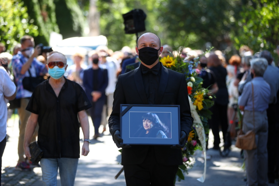 У Кракові поховали Еву Демарчик
