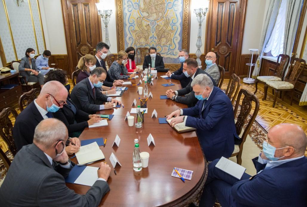 Андрій Єрмак на зустрічі з послами країн G7: Ваша підтримка дуже важлива