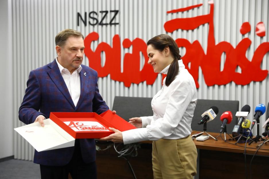 Польська «Солідарність» – з борцями за вільну і демократичну Білорусь
