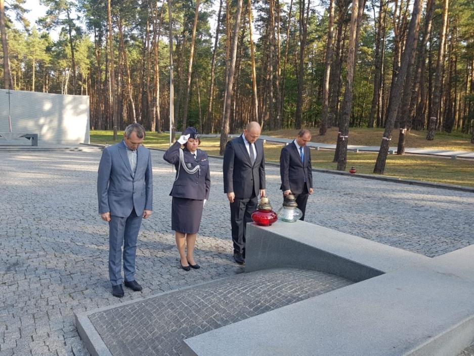 У річницю агресії СРСР пам'ять катинських жертв вшанували і в Україні