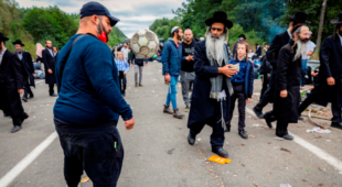 Ізраїль закликає хасидів на білорусько-українському кордоні повертатися додому