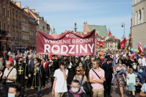 Варшавою пройшов XV Марш для життя і сім'ї