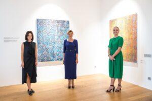 Елена Зеленская посетила Istanbul Artist Residency, созданную украинкой в Стамбуле