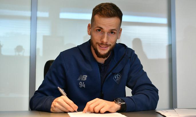 Динамо підписало новий тривалий контракт з легіонером