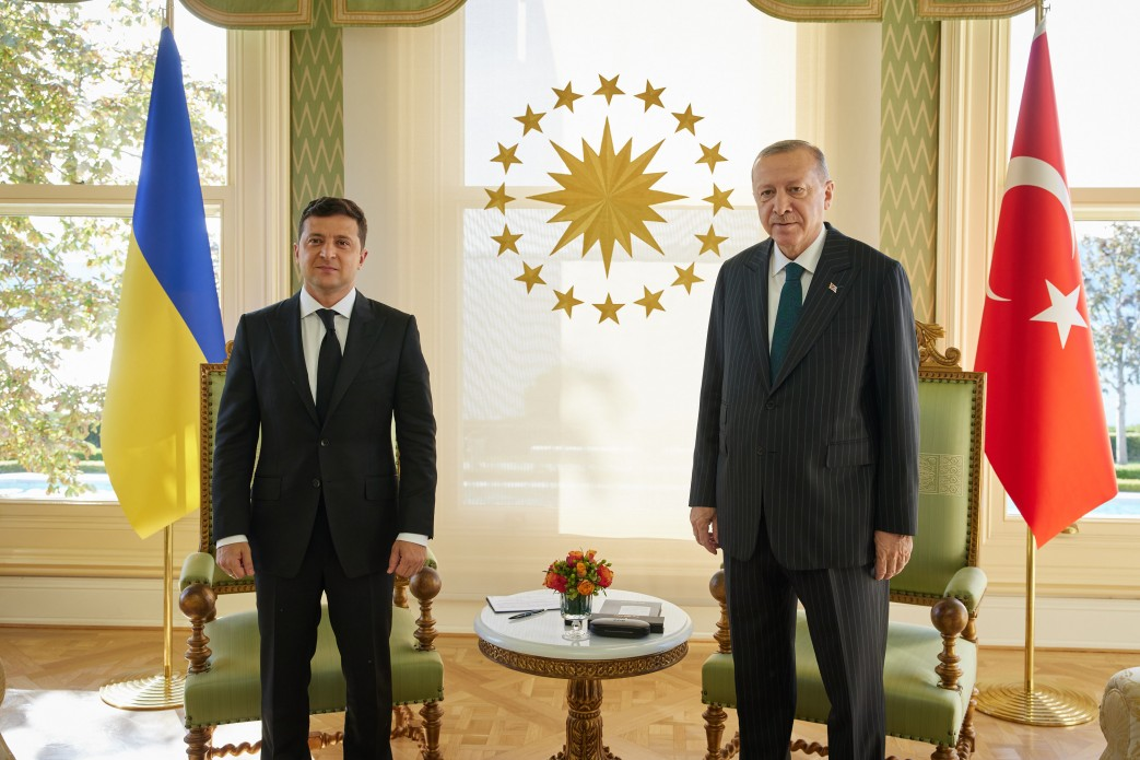 Joint statement following the meeting between President of Ukraine Volodymyr Zelenskyy and President of the Republic of Turkey Recep Tayyip Erdogan