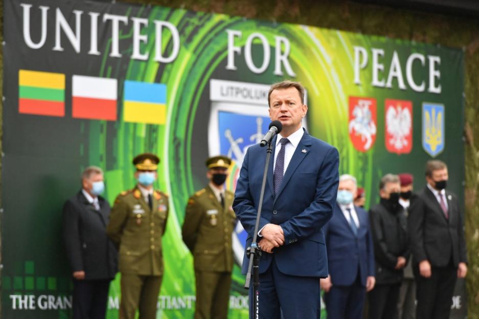 Маріуш Блащак: Війська Польщі, Литви та України мусять співпрацювати