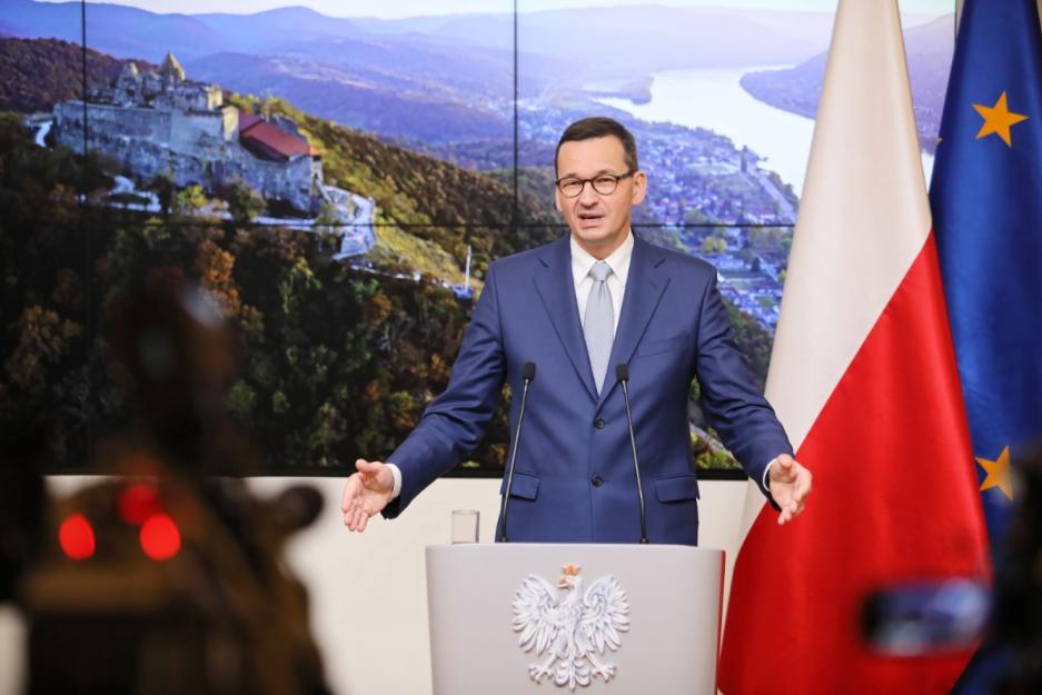 Матеуш Моравєцький на саміті ЄС закликав зупинити Nord Stream 2