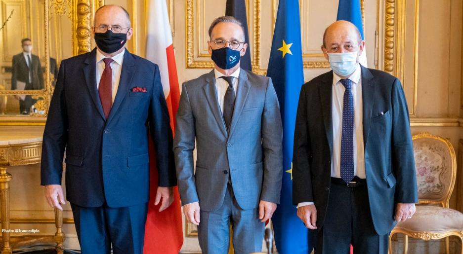 У Парижі відбулася зустріч дипломатів Веймарського трикутника