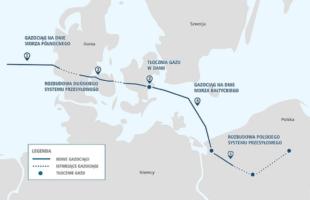 Польща підписала угоду про імпорт газу з Данії на заміну угоди з Ґазпромом
