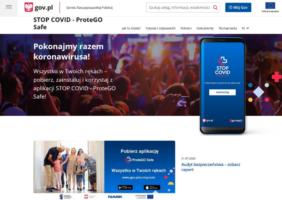 Мобільний додаток STOP COVID – ProteGo Safe допомагає в боротьбі з епідемією