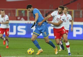 The national team of Ukraine in Chorzow lost in a friendly match to the team of Poland