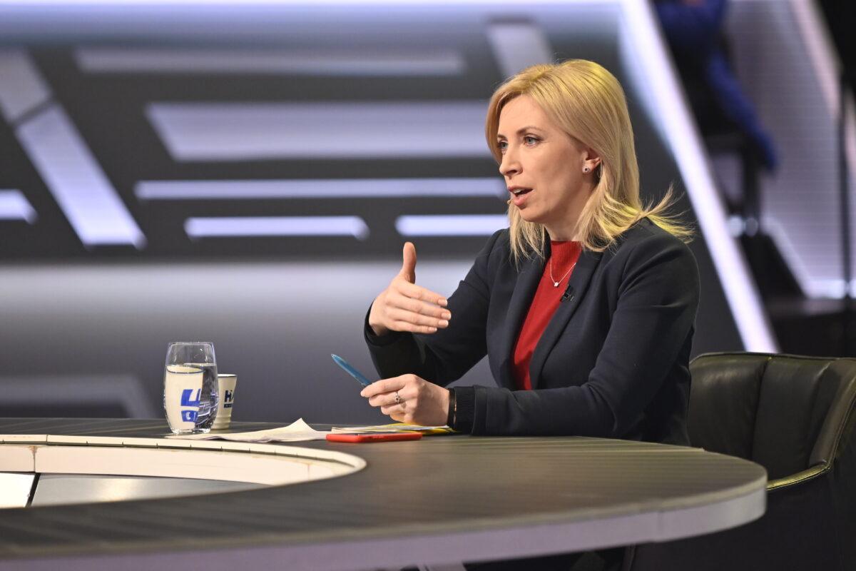 Ірина Верещук: Ми не можемо залишити людей без заробітних плат