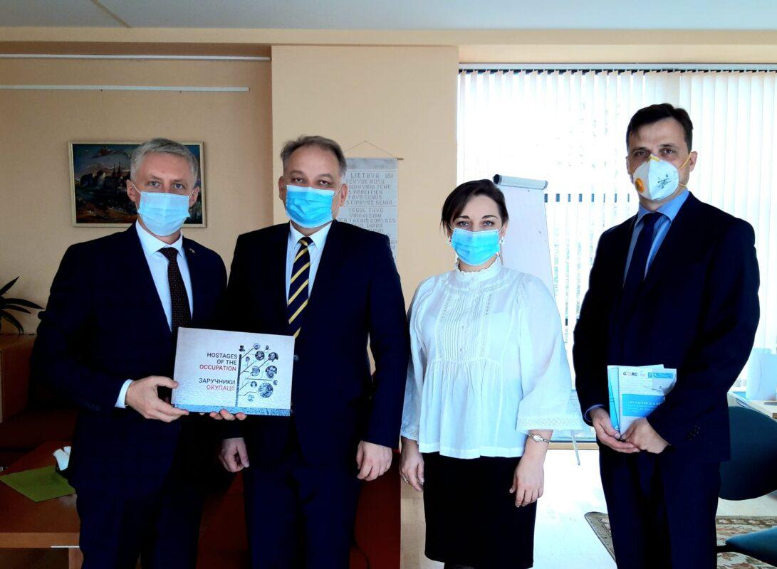 Сегодня провели встречу с Чрезвычайным и Полномочным Послом Литовской Республики в Украине господином Вальдемарасом Сарапинасом