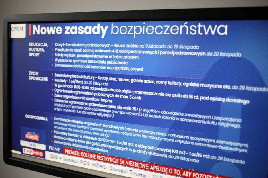 Речник уряду: Якщо епідемія не припиниться, Польщу чекає національний карантин