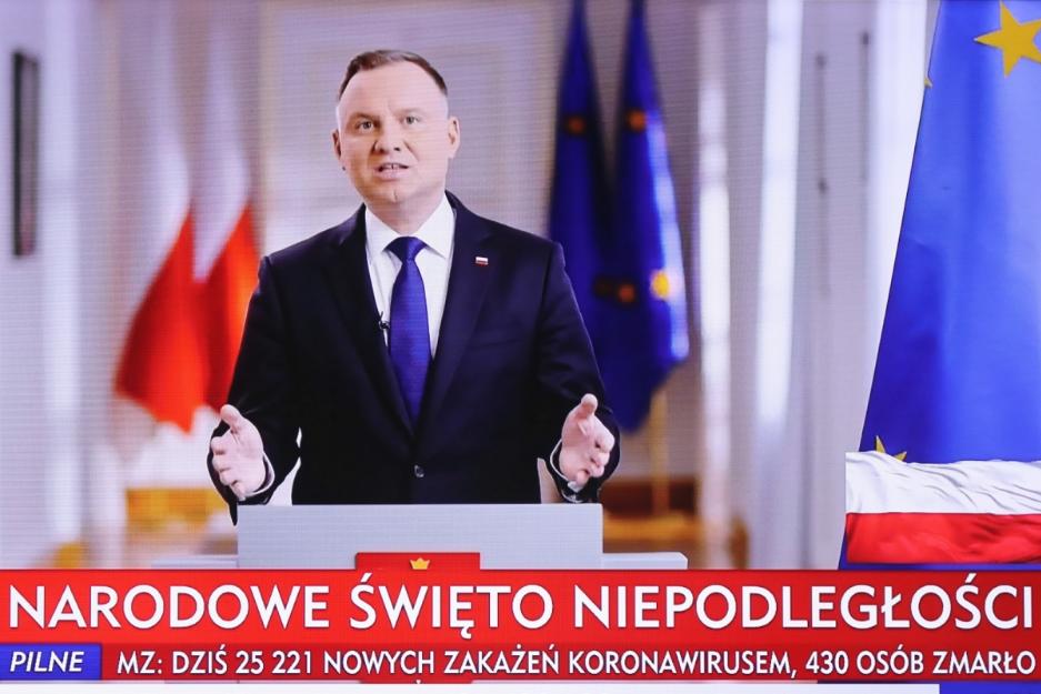 Анджей Дуда виступив із промовою і закликом у 102 річницю Незалежності Польщі