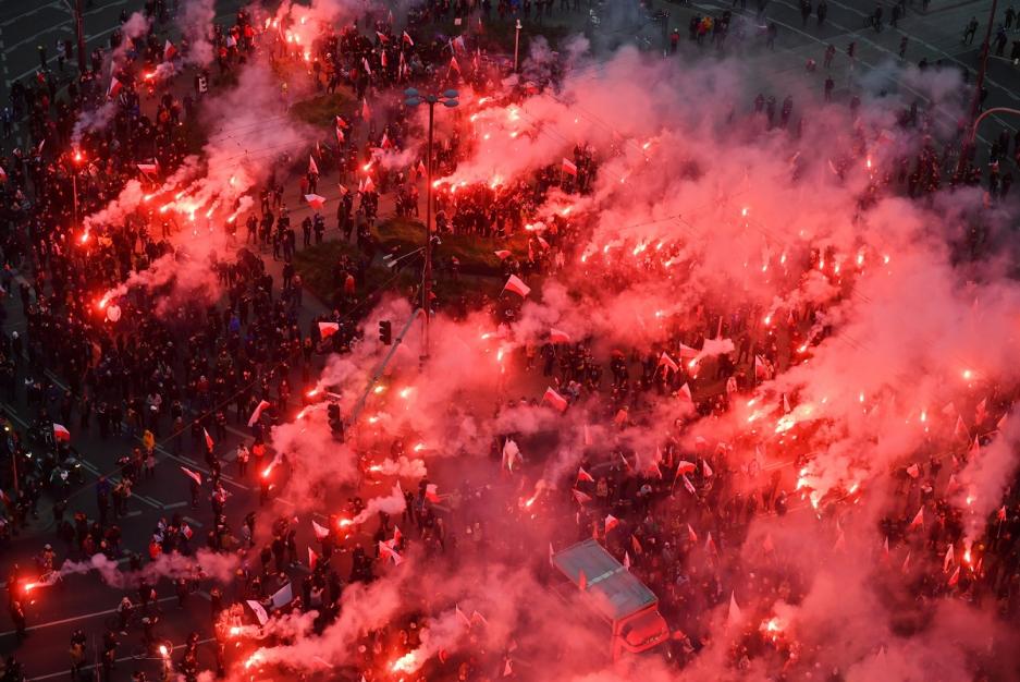 Міська влада Варшави оцінює збитки після Маршу Незалежності