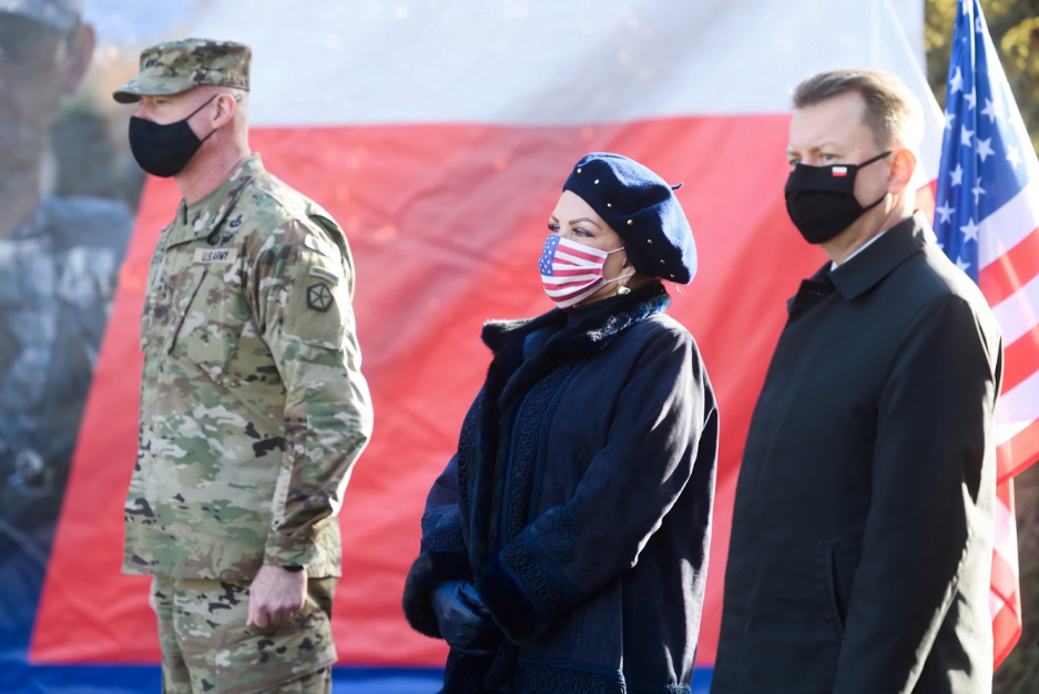 У Польщі офіційно почало свою діяльність командування V Корпусу сухопутних сил США