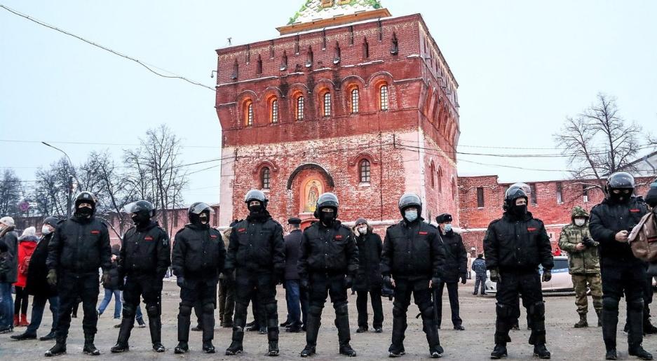 Вистава Путіна і Навального