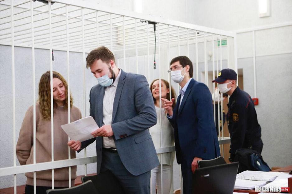 Режим у Мінську судить журналісток «Белсату»