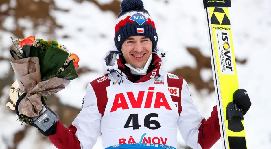 Поляк Камиль Стох завоевал серебро на Чемпионате мира по прыжкам с трамплина в Румынии