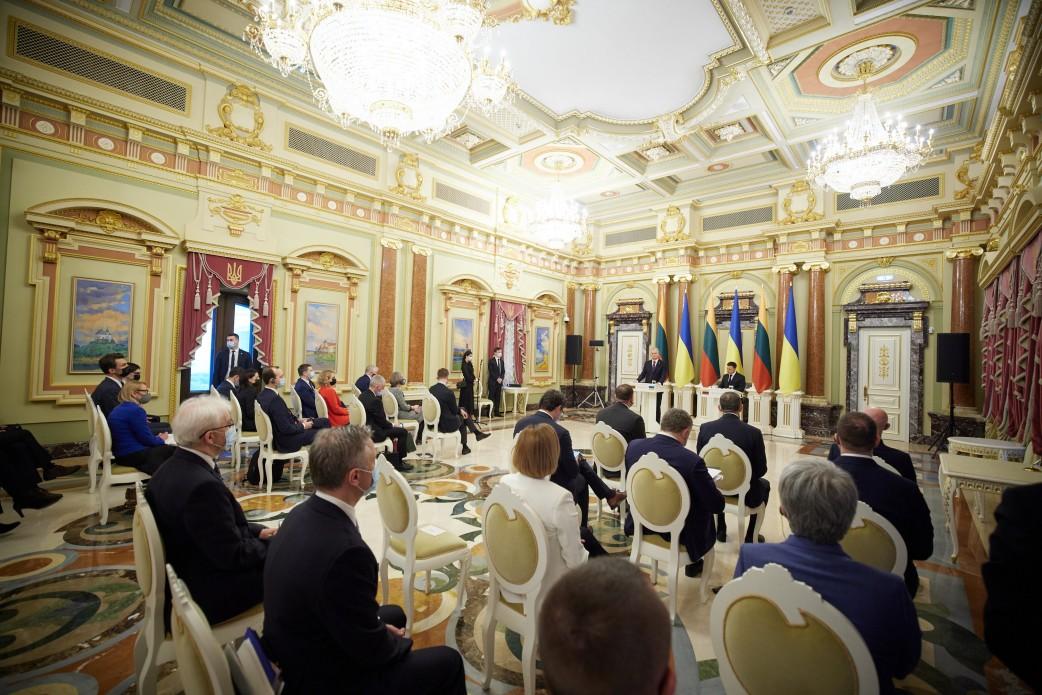 Литва офіційно зобов'язалася підтримати вступ України до ЄС