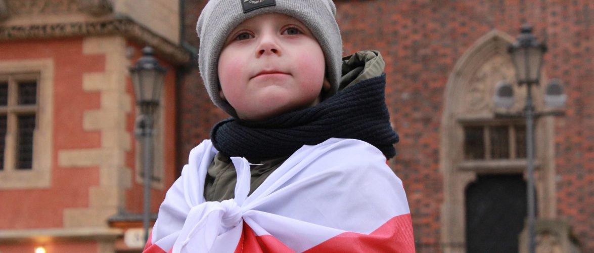 У Вроцлаві білоруси утворили «ланцюг солідарності» з білоруськими політв'язнями (ФОТО, ВІДЕО)