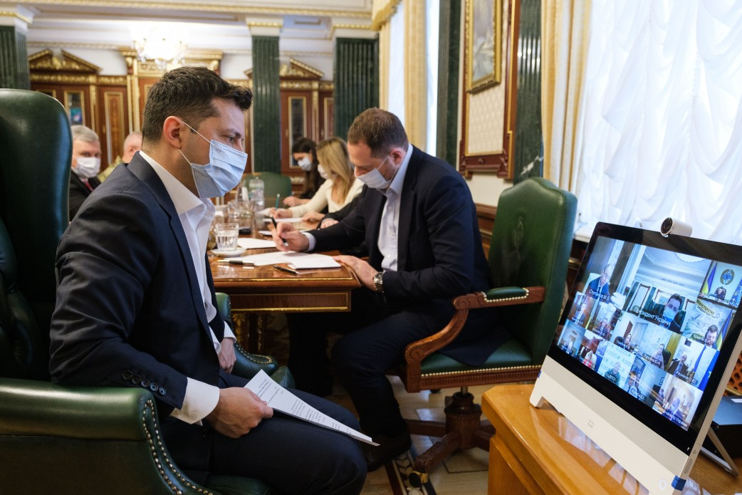 """Ukraine needs to develop a system of """"vaccination passports"""" and increase collective immunity from COVID-19 - Volodymyr Zelenskyy"""