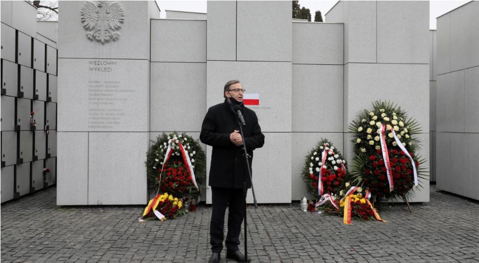 Голова ІНП Польщі Ярослав Шарек розповів про пошук решток проклятих солдатів