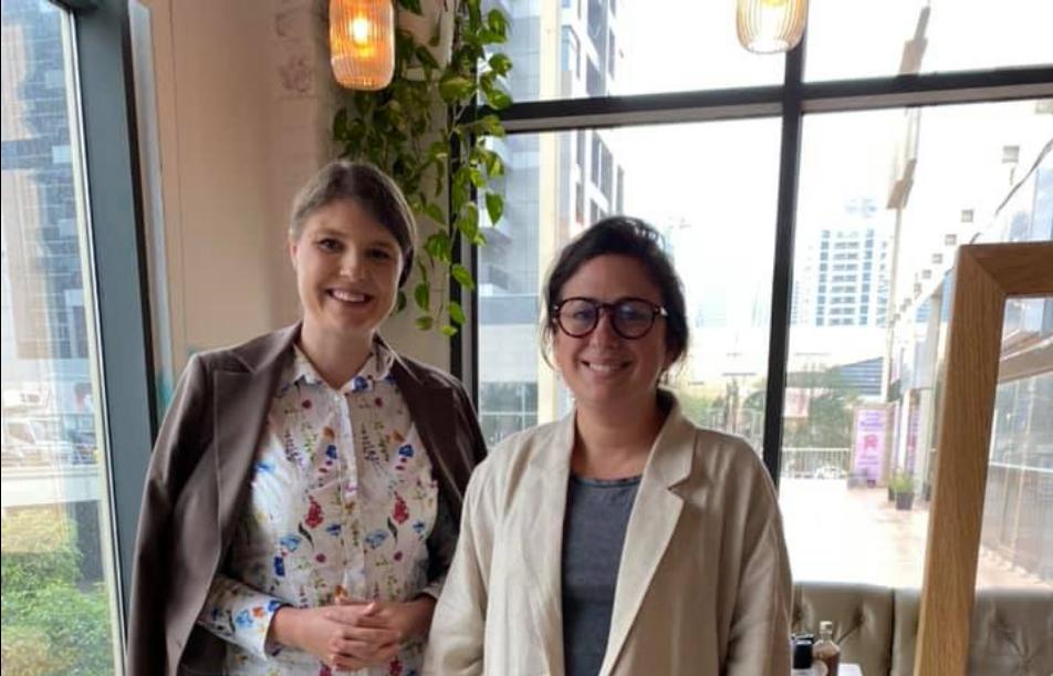 Зустріч з Amani O'Neill - консультантом правління в ОАЕ