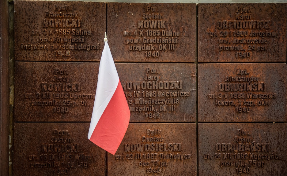 UPDATE: Poland remembers victims of 1940 massacre by Soviets