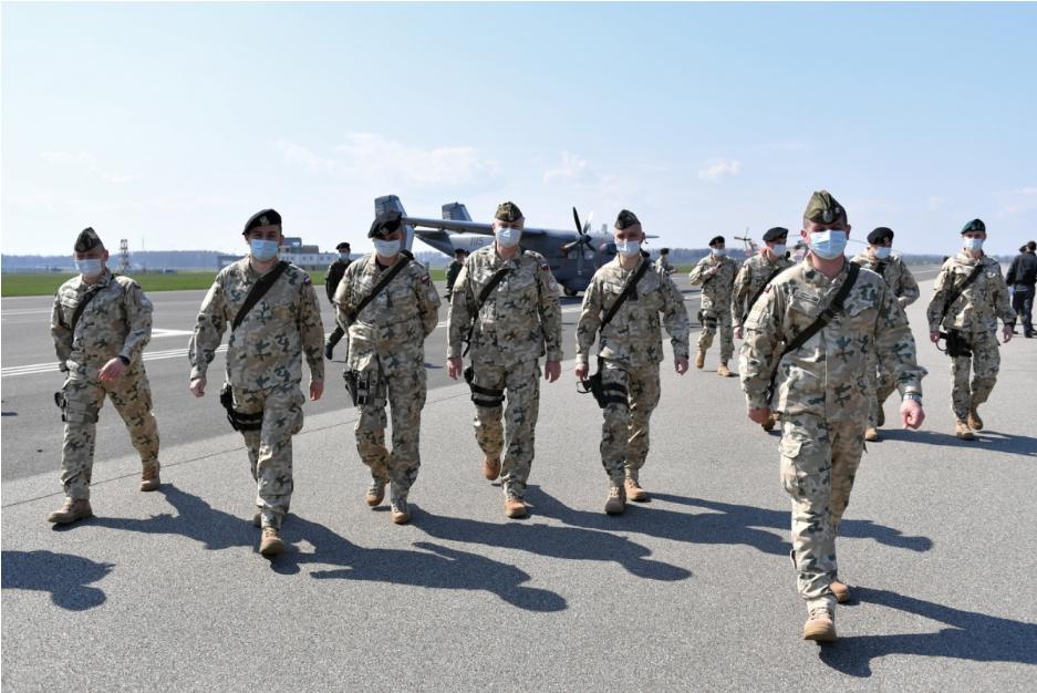 Польські солдати розпочали місію в Туреччині