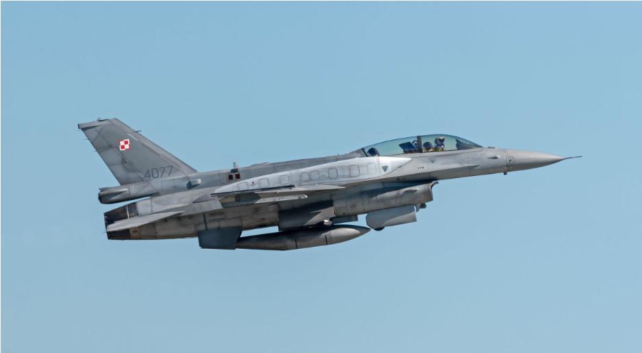 Polskie F-16 uczestniczyły w przechwyceniu rosyjskich samolotów