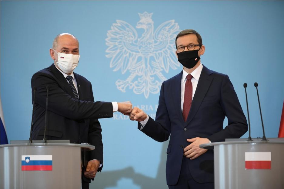 У Варшаві зустрілися прем'єри Польщі і Словенії