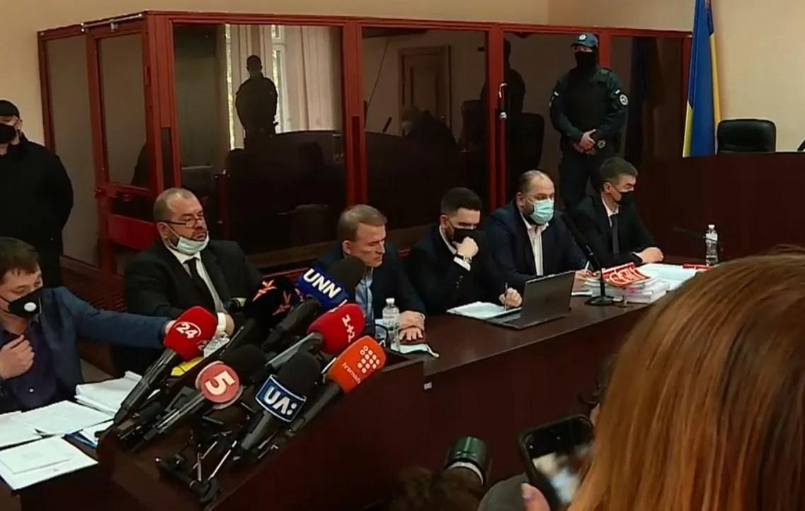 Суд над Медведчуком у справі про держзраду: онлайн-трансляція