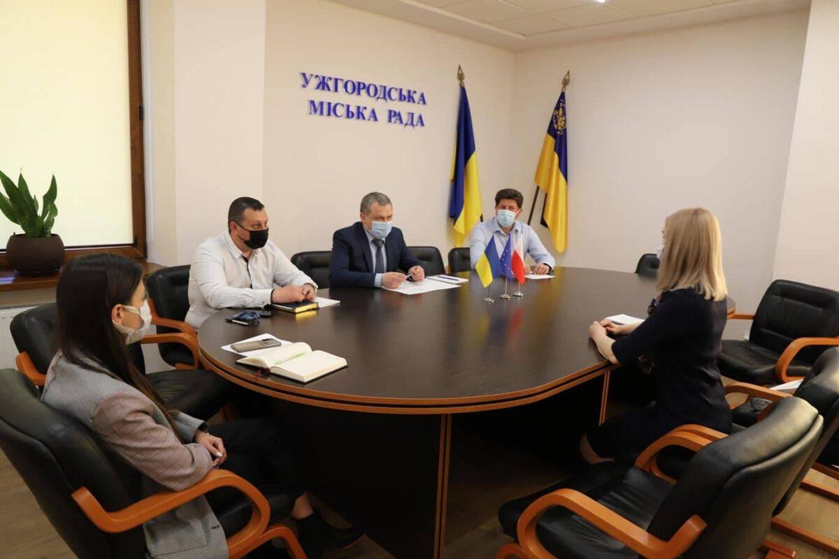 Про співпрацю з Польсько-українською господарчою палатою йшлося в Ужгородській міськраді