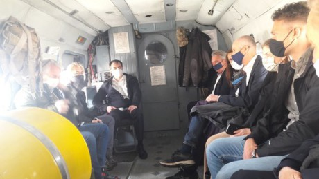 Глави МЗС Нідерландів, Бельгії та Люксембургу прибули на схід України