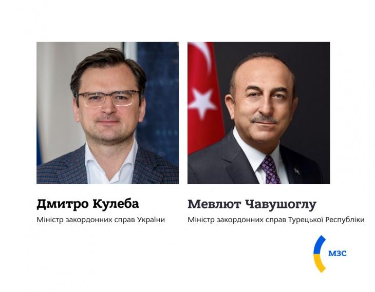 Дмитро Кулеба і Мевлют Чавушоглу обговорили підготовку до саміту Кримської платформи