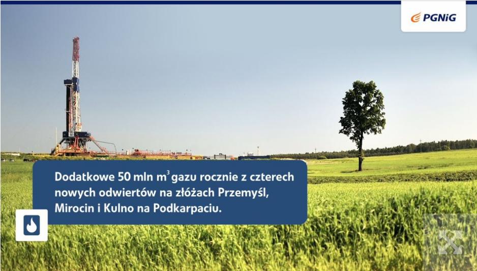 Польська нафтогазова компанія знайшла більше газу на Підкарпатті