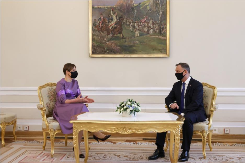 Президенти Польщі та Естонії обговорили питання безпеки України