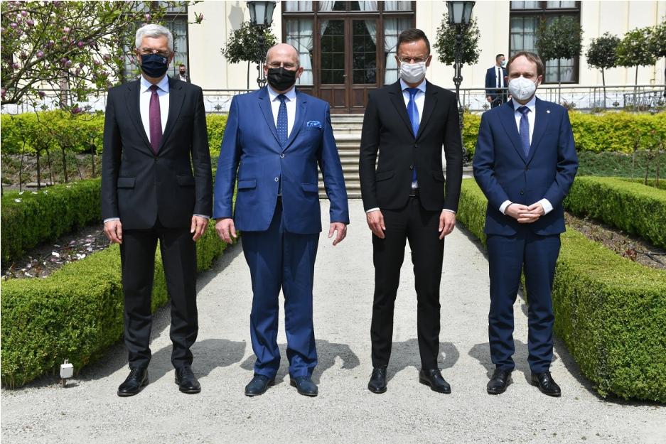 Східне партнерство – темою зустрічі Вишеградської четвірки