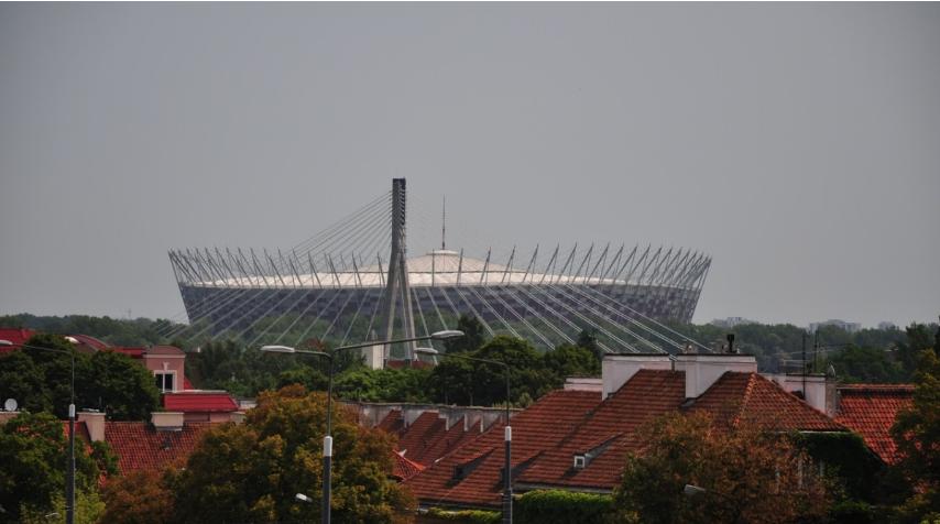 Тимчасова лікарня на Національному стадіоні у Варшаві призупинить роботу