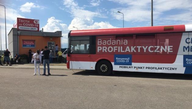 На польсько-українському кордоні почали вакцинувати заробітчан
